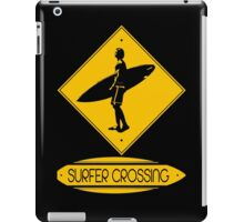 Surfer Crossing iPad Case/Skin