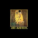 Klimt The Kiss  Art Matters  by Greenbaby