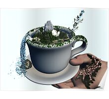 Piece of Nature Cup Poster