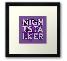 Hunter: Nightstalker Framed Print