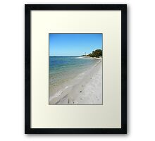 Tranquil Broadwater Framed Print