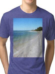 Tranquil Broadwater Tri-blend T-Shirt