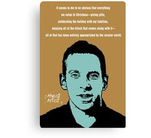 Sam Harris Christmas Canvas Print