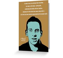 Sam Harris Christmas Greeting Card