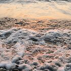 Bubbles in Motion - Playing in the Surf at Sunrise by Georgia Mizuleva