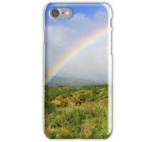 Rainbow in Hawaii iPhone Case/Skin