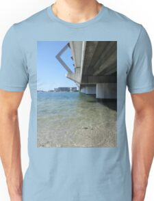 Calm Bridge Water Unisex T-Shirt
