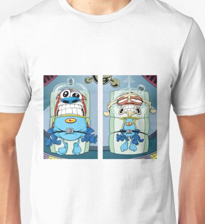 space madness ren and stimpy Unisex T-Shirt