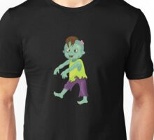 Cute happy zombie boy. Unisex T-Shirt