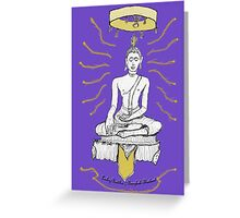 Thailand - Lucky Buddha Temple Greeting Card