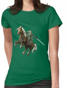 ZELDA LINK ART Womens Fitted T-Shirt