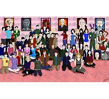 Doctor Who - Family Photo  Photographic Print