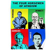 The Four Horsemen of Atheism Poster