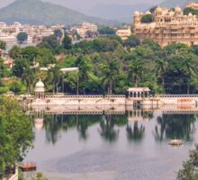 Udaipur - The Venice of the East Sticker