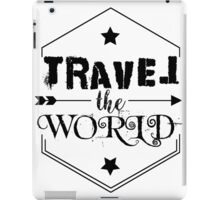 Travel the world iPad Case/Skin