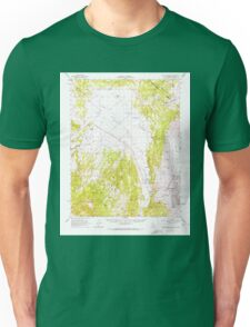 USGS TOPO Map California CA Glass Mountain 297565 1962 62500 geo Unisex T-Shirt