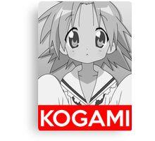 Kogami Anime Manga Shirt Canvas Print