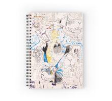 Furry mess Spiral Notebook