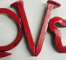 Love In Red Sticker