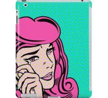 Sad Girl - Pink iPad Case/Skin