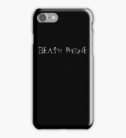 Death note ( death phone) iPhone Case/Skin