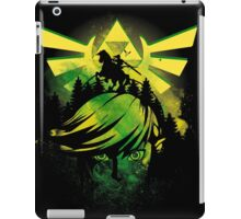Face of time iPad Case/Skin