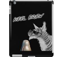 Kool Brow- Egg iPad Case/Skin