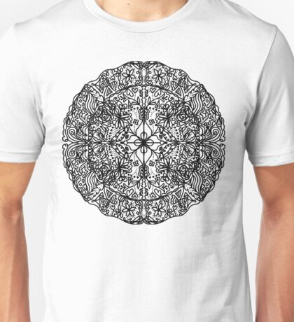 Nature Mandala Unisex T-Shirt