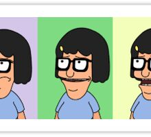 The phases of Tina Belcher - Bob's Burgers Sticker
