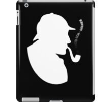 Detective Holmes Think and Smoke iPad Case/Skin