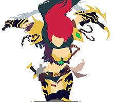 Katarina Minimalistic (League of Legends) by BK4REVENGE