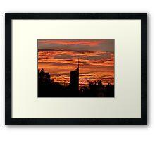 Q1 Sunrise Framed Print
