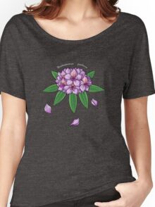 Rhododendron ponticum Women's Relaxed Fit T-Shirt