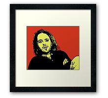 Tim Minchin Framed Print