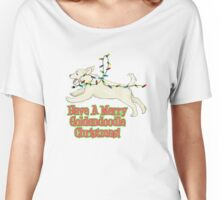 Have A Merry Goldendoodle Christmas Women's Relaxed Fit T-Shirt