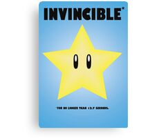Invincible*  Canvas Print