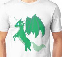 Green Unicorn Dragon Unisex T-Shirt