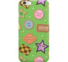 Alice In Wonderland Eat Me Cookies In Honeydew iPhone Case/Skin