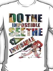 Do The Impossible, See The Invisible - Yoko T-Shirt