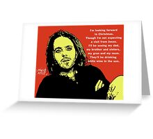 Tim Minchin Christmas Greeting Card