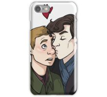 Nose smooches iPhone Case/Skin