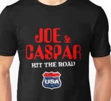 JOE & CASPER HIT THE ROAD 2016 Unisex T-Shirt