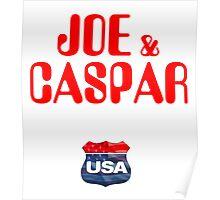 JOE & CASPER HIT THE ROAD 2016 Poster