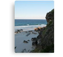 Miami Headland Canvas Print