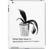 Level 1 Potted Plant Monster iPad Case/Skin