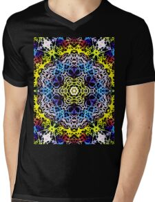 Psy Bloom Mens V-Neck T-Shirt