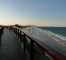 Surfers Paradise Sunset View by FangFeatures