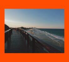 Surfers Paradise Sunset View Kids Tee