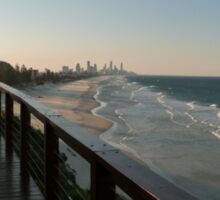 Surfers Paradise Sunset View Sticker