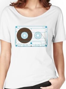 Audio Cassette Tape Women's Relaxed Fit T-Shirt